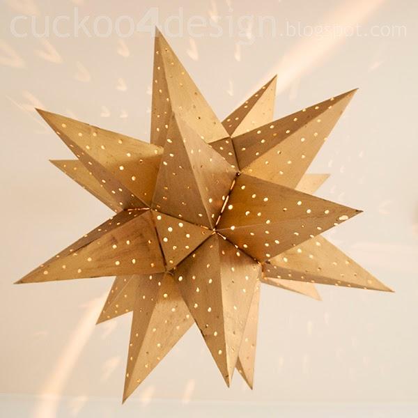 gold star ceiling light