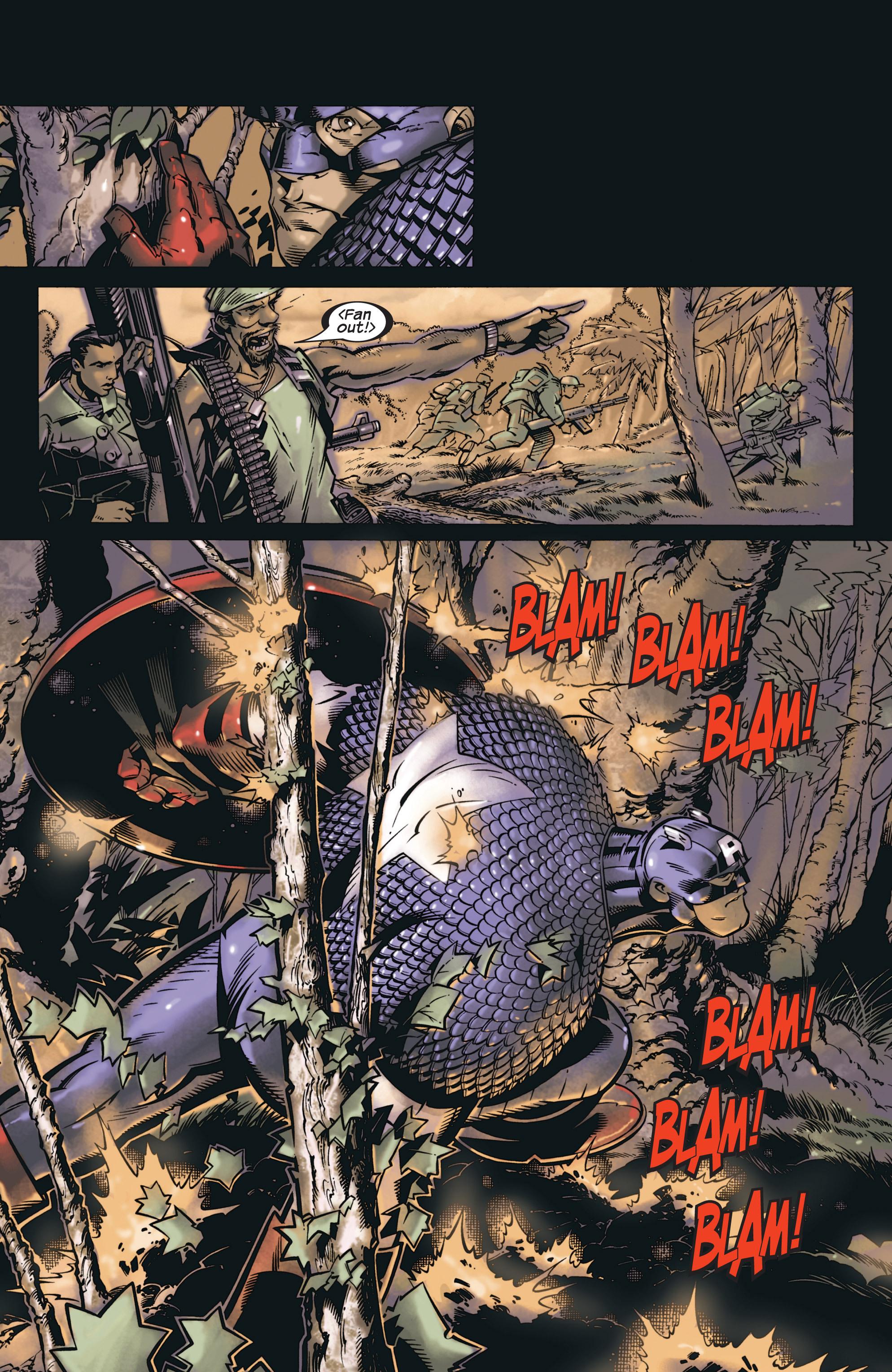 Captain America (2002) Issue #23 #24 - English 19