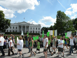 Protest in front of the Whitehouse