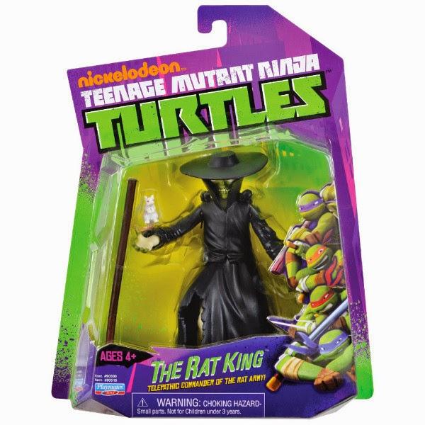 JUGUETES - LAS TORTUGAS NINJA : Ninja Turtles  Figura El Rey Rata | Muñeco  Producto Oficial | Playmates - Giochi Preziosi 90515 | A partir de 4 años