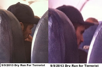 I WITNESSED TERRORIST ON PLANE