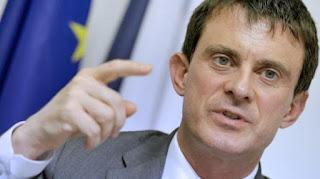 Le ministre de l'Intérieur, Manuel Valls, le 7 juin 2013 au Luxembourg.