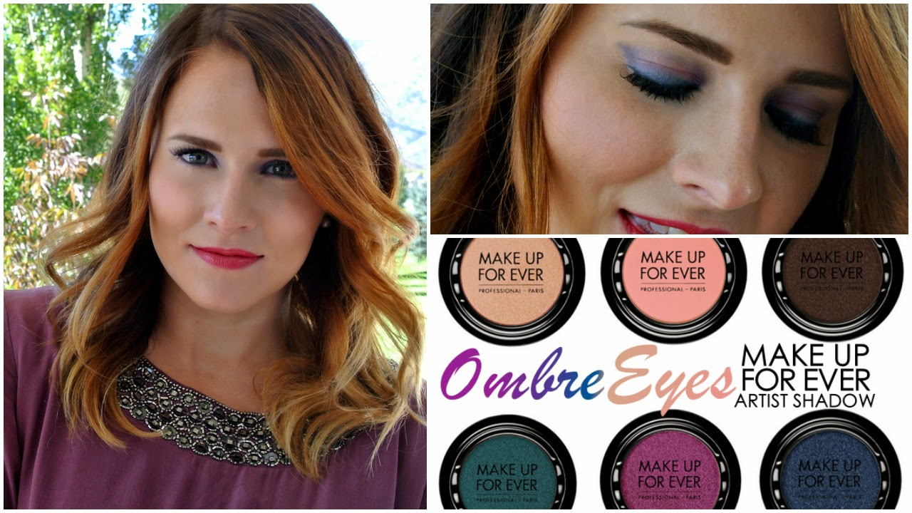 Marble Eye Shadow, How to do ombre eye shadow, Makeup Forever Artist Shadow Review