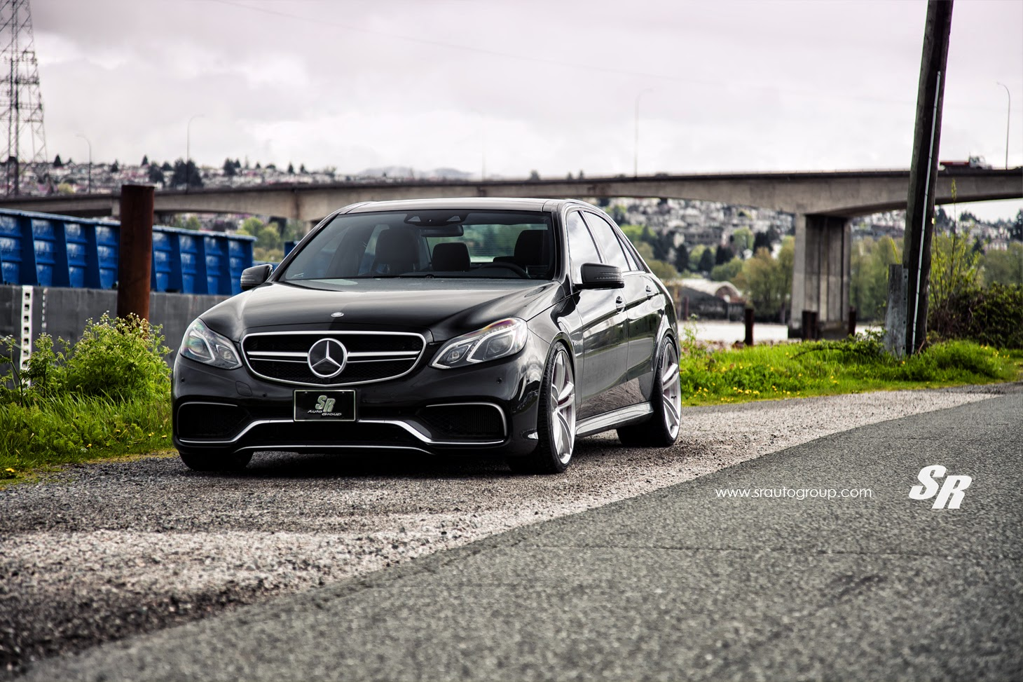 Mercedes Benz E63 Amg On Pur Rs07 Wheels Benztuning