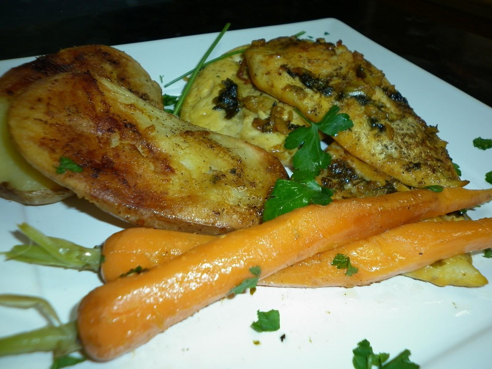 La cocina de puri pastor filetes de pollo al horno con for Pechugas de pollo al horno con patatas