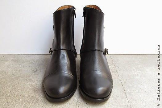 Soldes Anne Thomas bottines noires