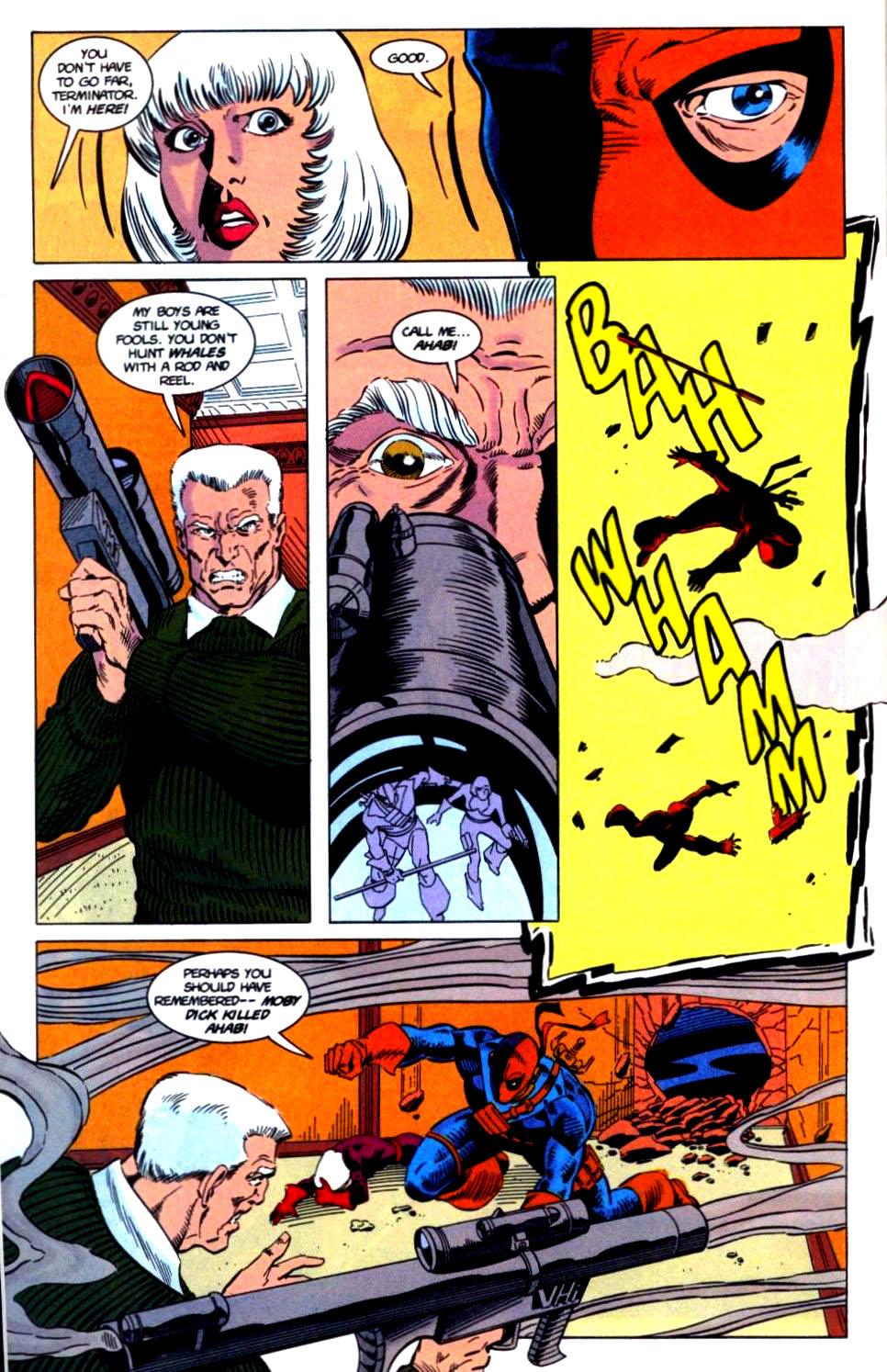 Deathstroke (1991) Issue #32 #37 - English 17