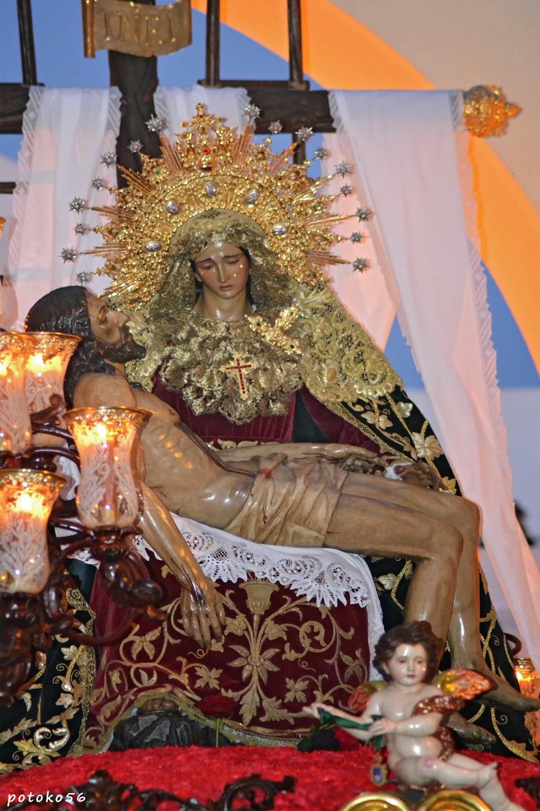 Semana Santa Los Dolores por el Arco de Regla Rota