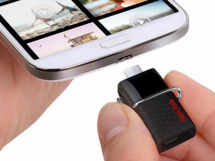 """La nueva """"USB doble San Disk Ultra"""" se puede conectar directamente a los móviles y tabletas Android"""