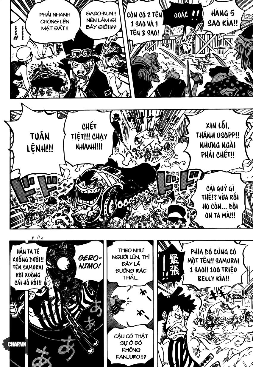 One Piece Chapter 746: Những ngôi sao 011