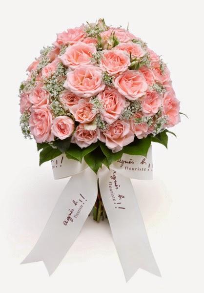 玫瑰花球 - 粉紅色系列比較常見的花球