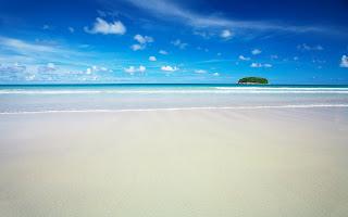 HD Tropic Island Sands Desktop Wallpaper