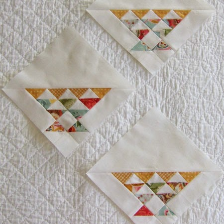 Tinly basket quilt blocks
