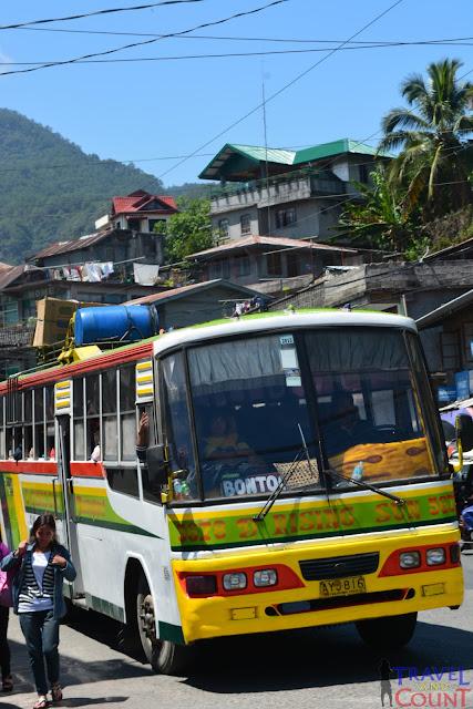 Bontoc Bus, Sagada, Banaue