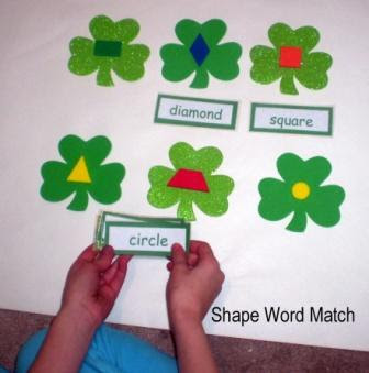 shamrock word matching