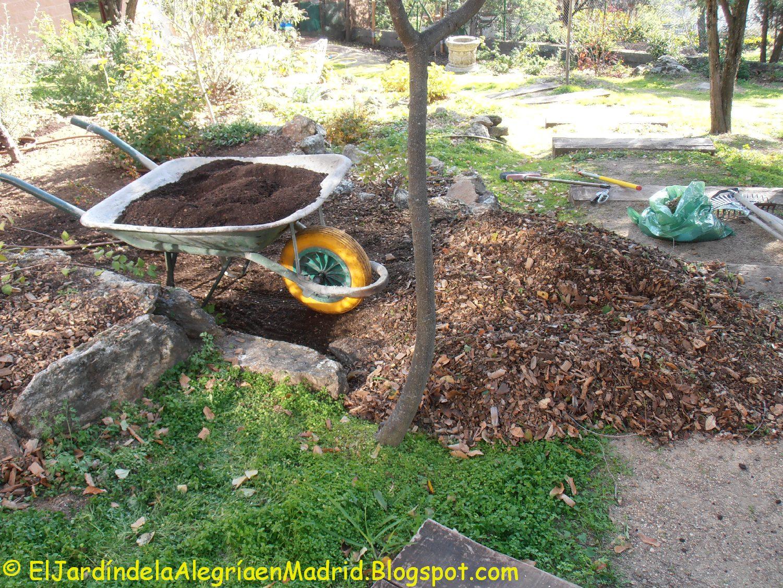 El jardín de la alegría : Trabajos de otoño: Enriquecer los bancales ...