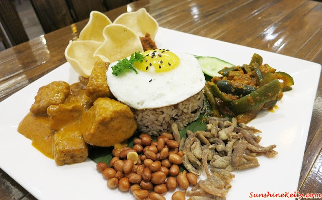 Simple Life Healthy Vegetarian, Simple Life, Healthy Vegetarian, Multi Grain Rice Nasi Lemak