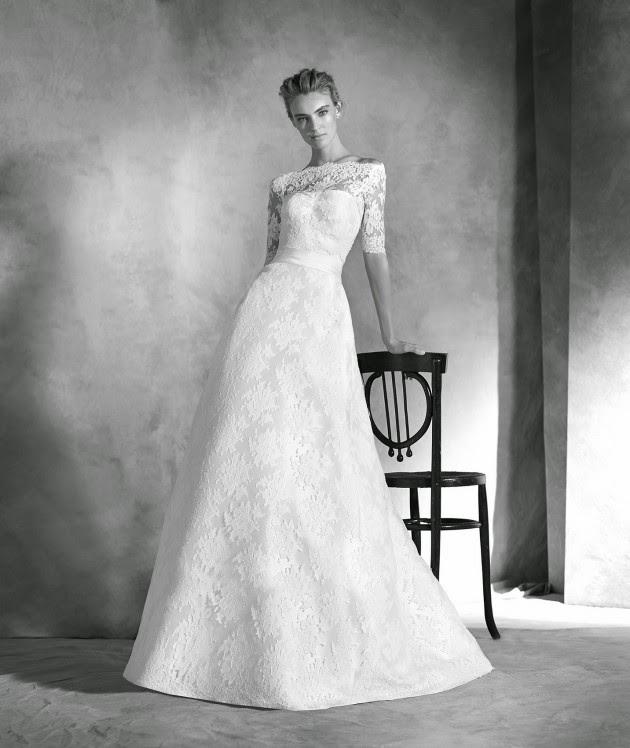 Atractivos vestidos de novias | Colección Atelier Pronovias