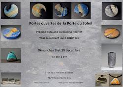 PORTE OUVERTE CHEZ UN ARTISAN à FONTENAY LES BRIIS 3 et 10/12.