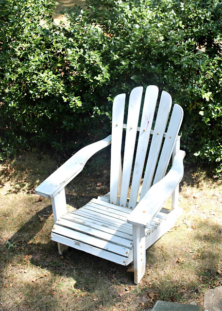Papered House_Adirondack Chair