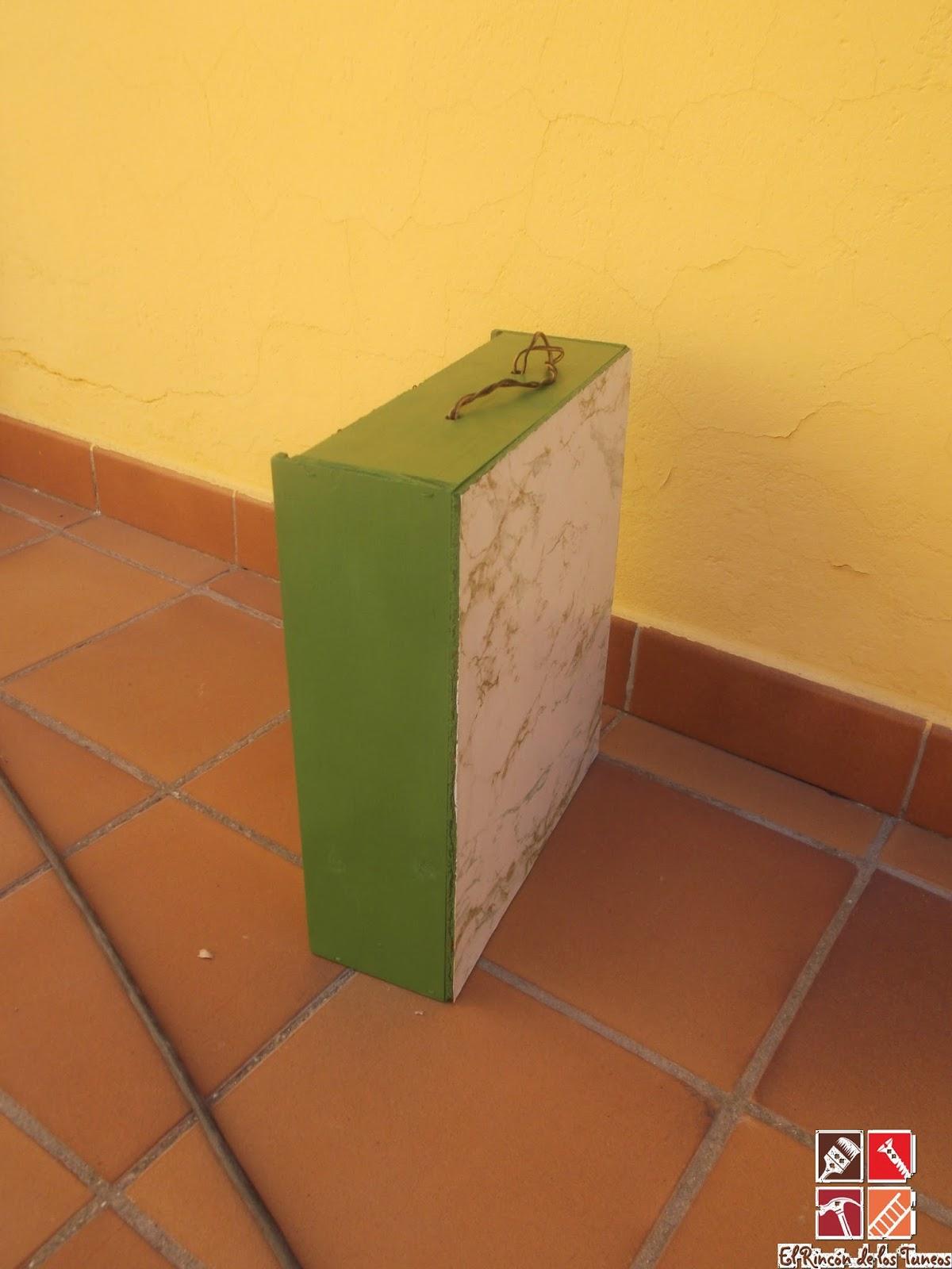 cajón tuneado a estanteria