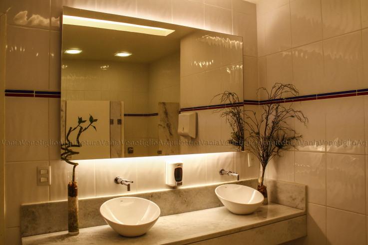 Banheiros Modernos, quais são as tendências?  DecorSaltea -> Pia Para Banheiro Moderno