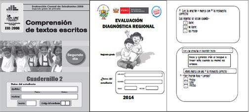 ECE 2008 - Evaluación tipo ECE 2014 ~ RUTAS DEL APRENDIZAJE