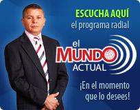 Haga clic sobre la imagen para escuchar el programa radial El Mundo Actual con el Dr. Antonio Bolainez
