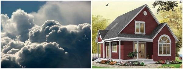 Contoh Efek Foto Surreal Simple Dengan Foto Editor