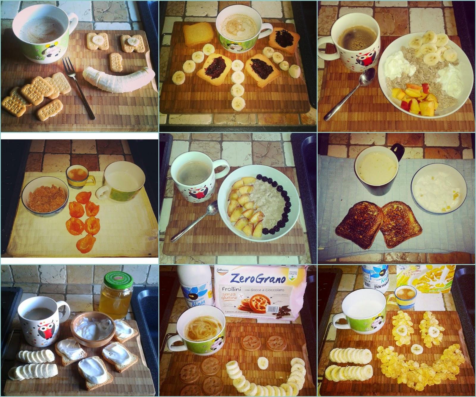 spesso Cucina & Fitness: Esempi di una buona colazione GJ03