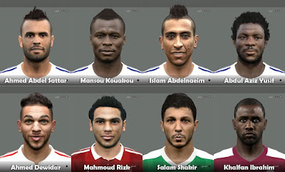 PES 2015 Egyption League Facepack by Elmodamer