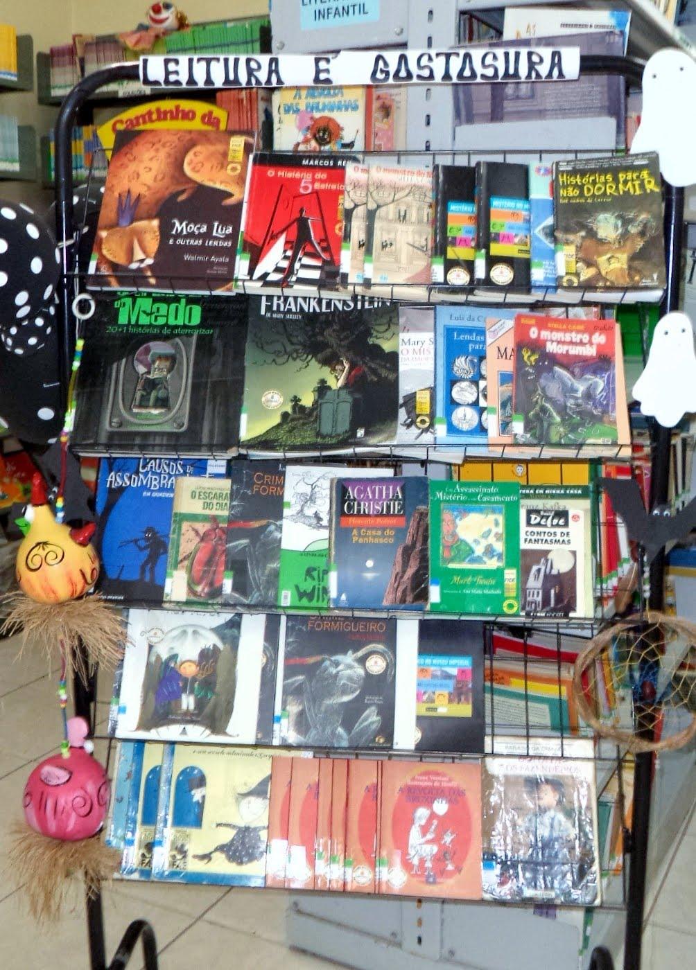 Livros de terror - Halloween