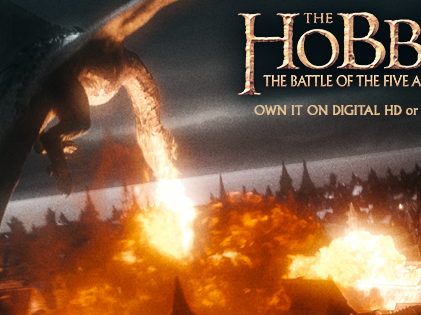 #TheHobbit: The Battle of the Five Armies Blu-Ray Giveaway