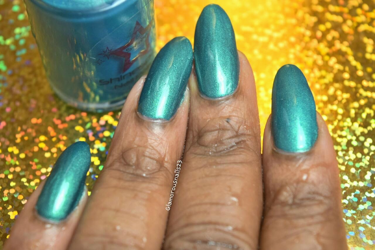 Shiniespark Polish Peacock Swatch
