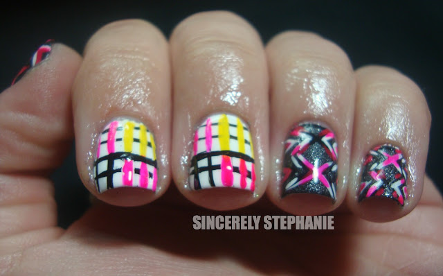 linear-nail-art-punk