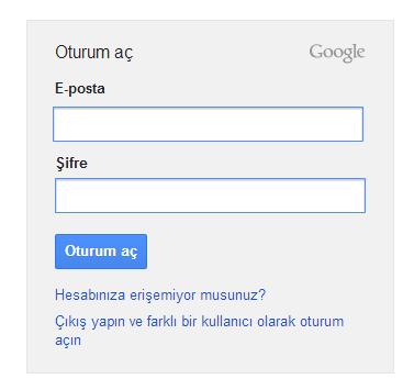 Google Apps Sunucu Hatası ve Çözümü