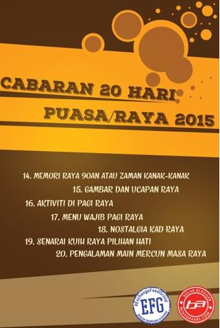 #Cabaran20Hari MENU WAJIB PAGI RAYA