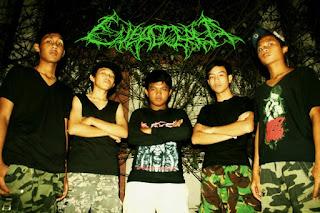 Eubacteria Band Death Metal tangerang foto personil logo wallpaper