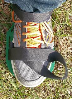 Extra long velcro strap