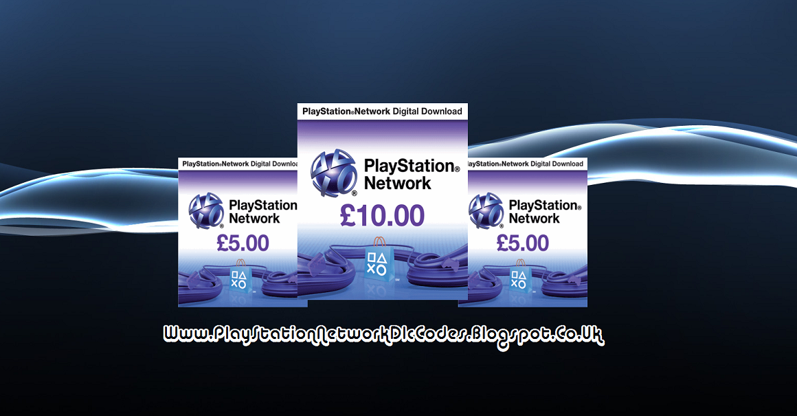 PlayStation Network Card Code Generator