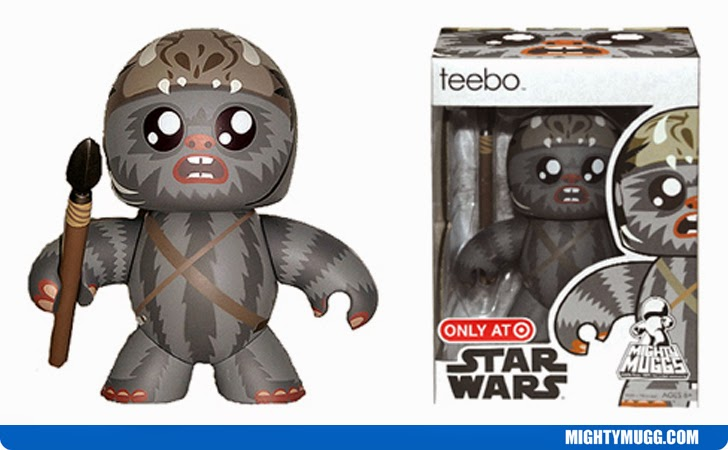 Teebo Star Wars Mighty Muggs Exclusives