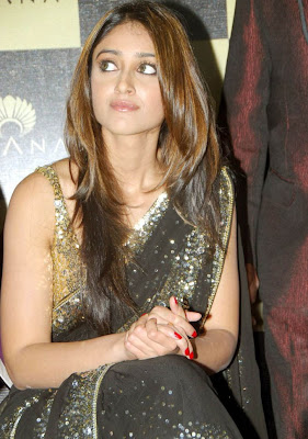 Actress Ileana in Hot Saree Photos