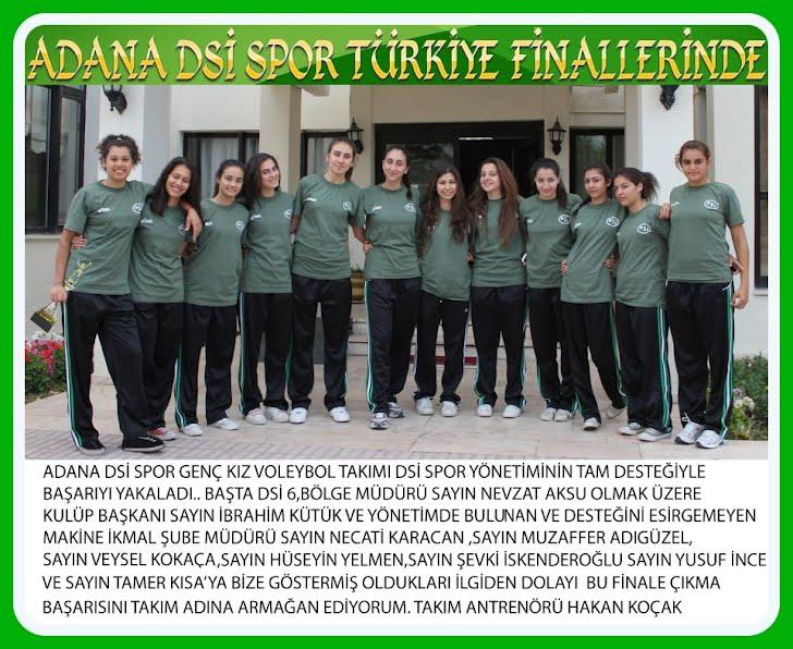 ADANA DSİ SPOR FİNALLERDE