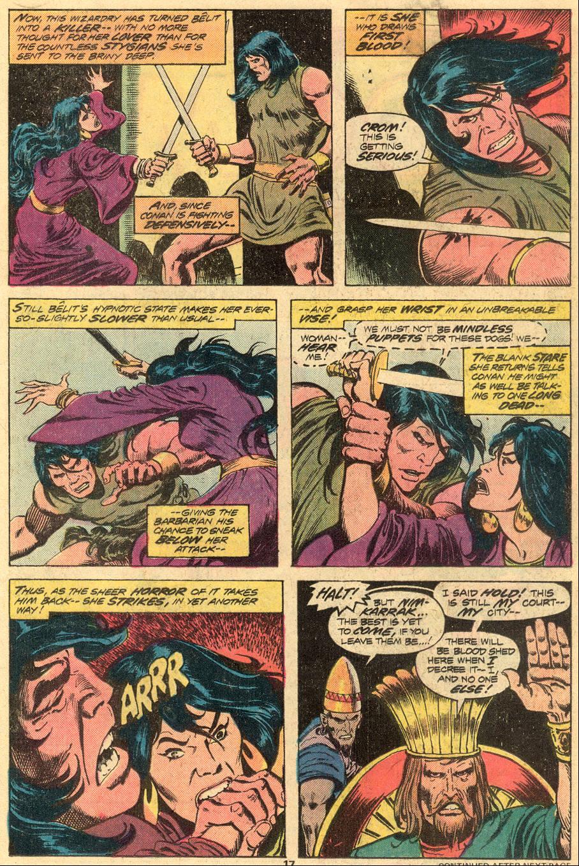 Conan the Barbarian (1970) Issue #72 #84 - English 12