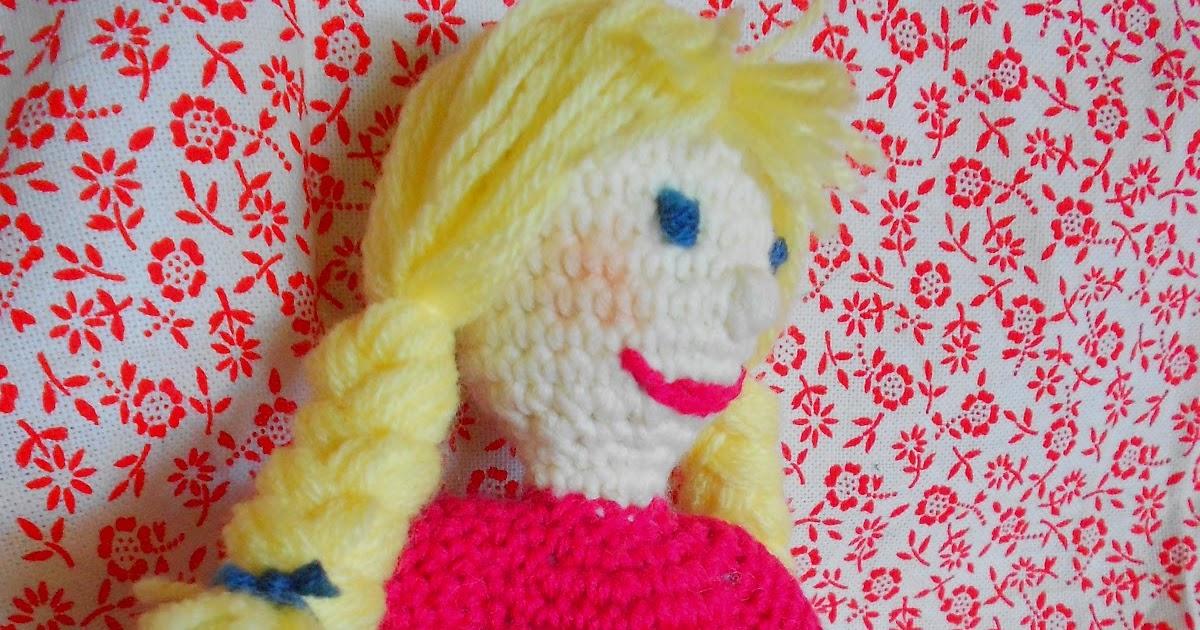 kochloeffel-und-nadelkissen: Häkel- Puppe Lotta mit Anleitung