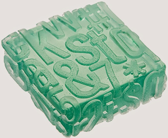 Typography Soap!