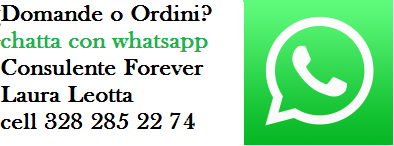 DOMANDE O ORDINI? MANDA UN SMS SU WHATSAPP