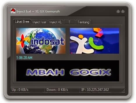 Inject Indosat dan XL GX Gemuruh Work 14 Februari 2014