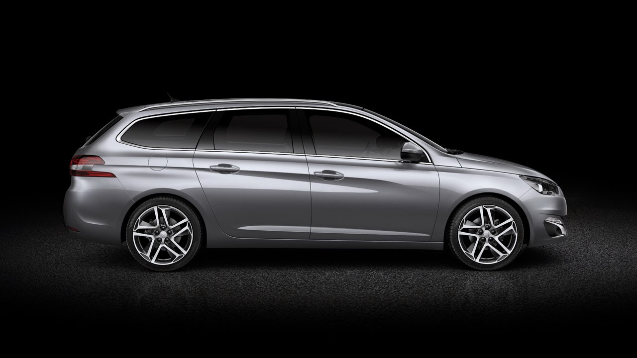 New Peugeot 308 SW - Sleek and Spacious side