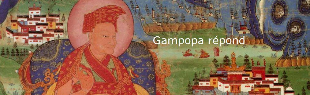 Gampopa répond